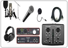 Home Studio Set Up Voice Over Booths Sound Recording Equiments Software And Plug Ins