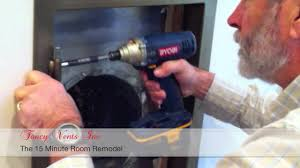 Decorative Air Conditioning Return Grille by Fancy Vents Easy Install Video I Decorative Return Air Vent Covers
