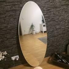 spiegel ikea kolja oval groß