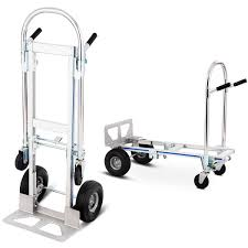 Costway: Costway 2in1 Aluminum Hand Truck Convertible Folding Dolly ...