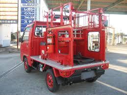 Like Brand New!! 1991 Subaru Sambar 4x4 Ex Fire Truck (In Japan ...