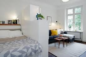 wohn und schlafzimmer in einem raum ideen wohnung 1