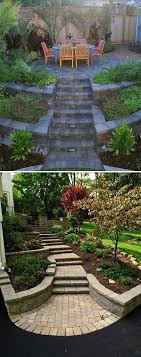 25+ Trending Sloped Backyard Ideas On Pinterest | Sloping Backyard ... How To Prevent Basement Water Intrusion 25 Beautiful Landscape Stairs Ideas On Pinterest Garden Inground Pools Sloped Yard 5 Ways Build Pool Hillside Landscaping Small Hillside Landscaping Ideas On Budget Diy 32x16 Ish Pool Steep Slope Solving Problems Reflections From Wandsnider Trending Backyard Sloping Back Backyard Slope Land Grading Much You Need Near A House Best Front Yard