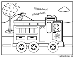 Free Printable Fire Truck Coloring Pages Photo Gallery Of