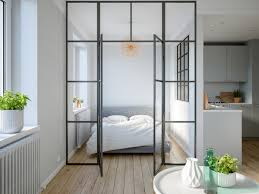 100 Glass Walls For Houses 3 Modern Studio Apartments With Walled Bedrooms