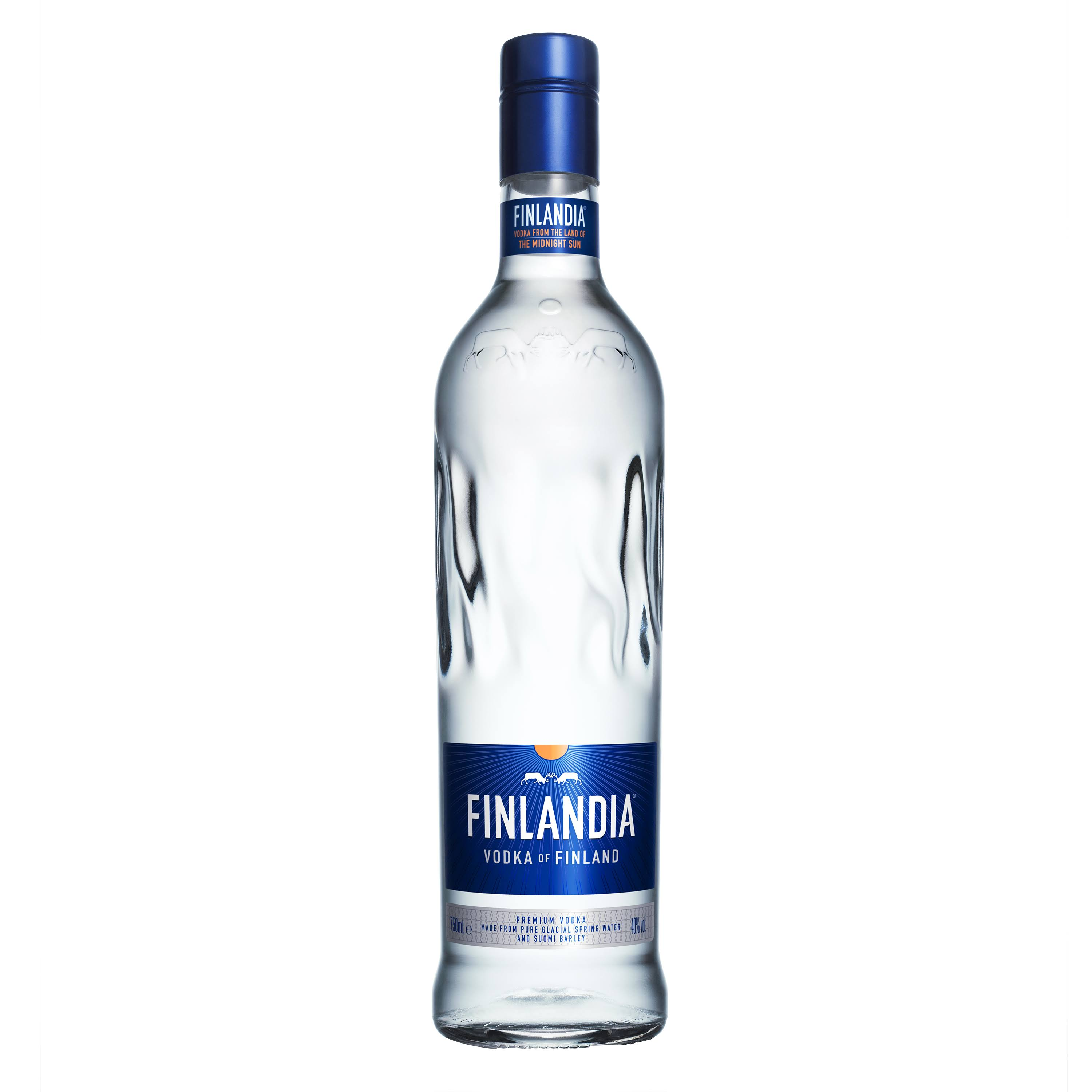 Finlandia Vodka - 750 ml bottle