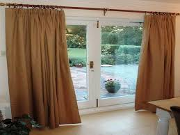 Patio Door Curtain Ideas by Taking Measurements For Your Sliding Glass Door Curtains Home