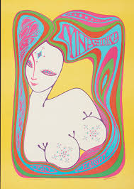 Loren Rehbock Mnasidika 1510 Haight St 1967 Color Offset