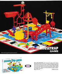 MOUSETRAP Turn The Crank And Snap Plank