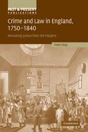 Crime And Law In England 1750 1840