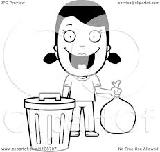 Taking Out the Trash Cartoon