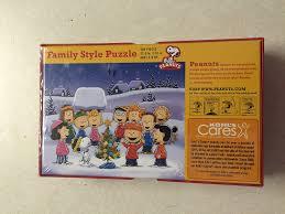 Kohls Christmas Tree Lights by Amazon Com Kohl U0027s Cares Peanuts 500 Pc Family Stylejigsaw Puzzle