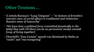 Iron Curtain Speech 1946 Definition by The Cold War Hta Study Days Ppt Download