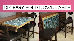 DIY WALL MOUNTED FOLD DOWN TABLE - YouTube Better Sit Down For This One An Exciting Book About The History Of Table Fniture Wikipedia List Of Types Gateleg Table 50 Amazing Convertible Coffee To Ding Up 70 Off Modern Wallmounted Desk Designs With Flair And Personality Drop Down Murphy Bar Diy Projects Bloggers Follow In 2019 Flash Fniture 30inch X 96inch Plastic Bifold Home Twenty Ding Tables That Work Great Small Spaces Living A Dropleaf Tables For Small Spaces Overstockcom Amazoncom Linon Space Saver Set Kitchen Cube 5 1 Ottoman Seat Expand Folding