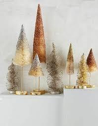 Bottle Brush Trees A Vintage Look