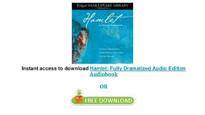 Hamlet by William Shakespeare audiobooks on iphone