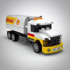 SHELL TANKER LEGO, Toys & Games On Carousell