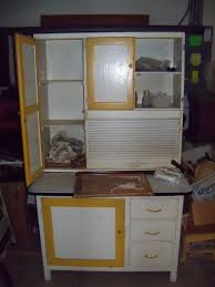 Possum Belly Bakers Cabinet by Antique Kitchen Cabinet With Flour Bin Antique Furniture