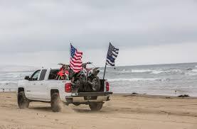 100 Truck Flag FileOceano Beach Blue Lives Matter And American