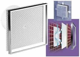 details zu fliesen chrom design badlüfter ventilator deckenlüfter wandventilator wc lüfter