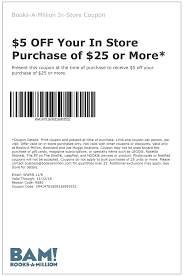 Books-A-Million Coupons - $5 Off $25 At Books-A-Million, Or ... 25 Off Ludwig Promo Codes Top 2019 Coupons Promocodewatch Discount Vouchers And Booksamillion 5 Off At Or Rugged Maniac Florida Promo Code Aaa Discounts Rewards Olc Accelerate Where Do I Find The Member Code 50 Black Friday Deals For Photographers Chemical Guys Coupon October 22 Free Gifts Cyber Monday 2018 Best Book Audiobook Deals The Verge Surplus Gizmos Coupon Jump Around Utah Coupons French Mountain Commons Log Jam Outlet Adplexity Review Exclusive Off Father Of