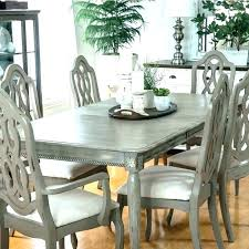 Distressed Dining Table And Chairs Room