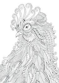 Coloring Very Hard Pages Free Printable For Adults Animals Color By Number