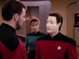 Star Trek The Next Generation Lower Decks by First Officer Data Star Trek Tng S4 Future Imperfect Star Trek