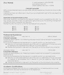 Project Management Resume Objective Resumes Summary Sample Objectives For General Manager Position Top Career Good 542