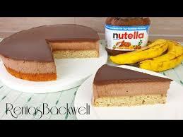 nutella bananen torte der feinen sorte