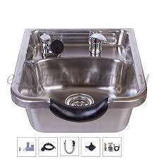 amazon com stainless steel brushed shoo bowl salon sink for