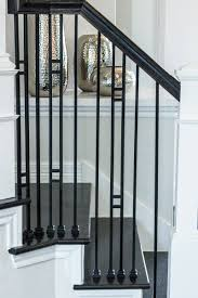This Staircase Uses High Quality Wrought Iron Balusters To Create ... Iron Stair Parts Wrought Balusters Handrails Newels And Stairs Amusing Metal Railing Parts Extordarymetalrailing Banister Baluster Railing Adorable Modern Railings To Inspire Your Own Shop Kits At Lowescom Stainless Steel Our 1970s House Makeover Part 6 The Hardwood Entryway Copper Home Depot Model Staircase Metal Spindles For High Quality Neauiccom 24 Best Craftsman Style Remodeling Ideas Images On This Deck Stair Was Made Using Great Skill Modular