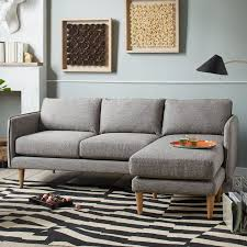 West Elm Crosby Sofa Sectional by Quinn Sectional West Elm