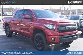 100 Truck Pro Fort Smith Ar PreOwned 2017 Toyota Tundra 4WD TRD Crew Cab Pickup In