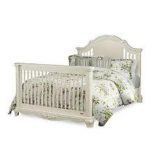 Bassettbaby PREMIER Addison Full Size Bed Rails in Pearl White