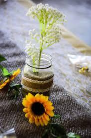 Wedding Decorations Rustic Sunflower Theme