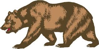 Grizzly Clipart California Bear 4