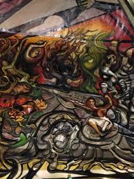 David Alfaro Siqueiros Murales Con Nombre by Running Frida Mexico City