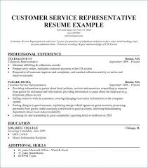 Customer Service Resume Sample Elegant Skills Examples Best