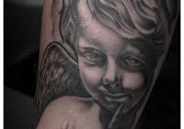 Baby Angel Tattoo Designs