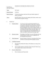 7 Informative Speech Outline Templates PDF