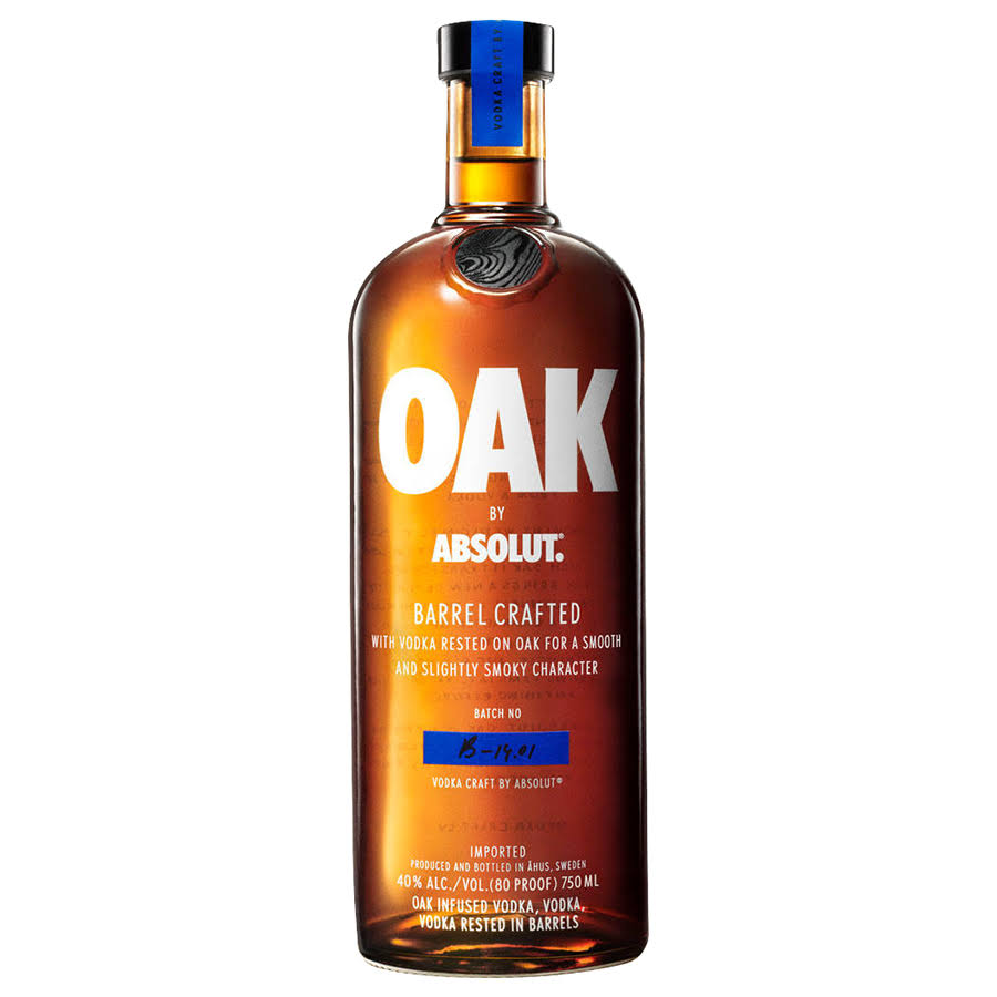 Oak by Absolut Swedish Grain Vodka
