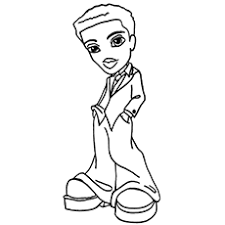 Coloring Page Of Dylan
