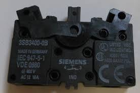 Leviton Lamp Holder 13357 by Siemens Sirius No Contact Block Lamp Holder 3sb3400 Ob On Popscreen