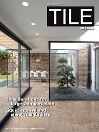 Mapei Porcelain Tile Mortar by Tile Magazine Bnpmedia March April 2014 Issue Features An Elegant M U2026