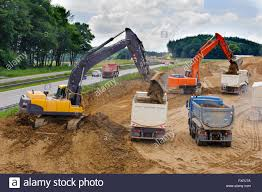 German Highway Under Construction With Trucks And Digger Stock ... Toy Truck Videos For Children Bruder Backhoe Excavator Top Ten Legendary Monster Trucks That Left Huge Mark In Automotive Or Rent Used Bucket Boom Pssure Diggers And Grave Digger Stock Photos Intertional Derrick Kentucky For Sale Florida Sago Mini Android Apps On Google Play Cstruction 12 Volt Ride On Baby Drakes Whlist And Dumper Standing Idle A Building Site Rural Pennsylvania 1995 Ford Fseries Awd Single Axle Sale By