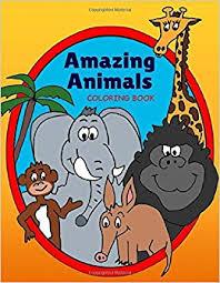 Amazing Animals Coloring Book LLC Charms Maine 9781534762879 Amazon Books