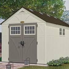 Rubbermaid 7x7 Gable Storage Shed by Suncast Tremont Gable Storage Shed Common 8 Ft X 7 Ft Interior