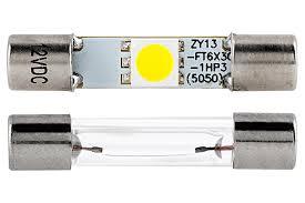 6612f led bulb 1 smd led vehicle vanity fuse l 30mm
