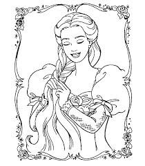 Free Barbie And Ken Wedding Coloring Pages